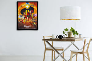 Incredibles 2 - Signed Poster + COA