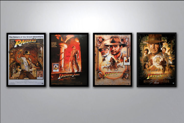 Indiana Jones Complete Poster Collection