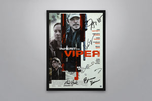 Inherit the Viper - Signed Poster + COA