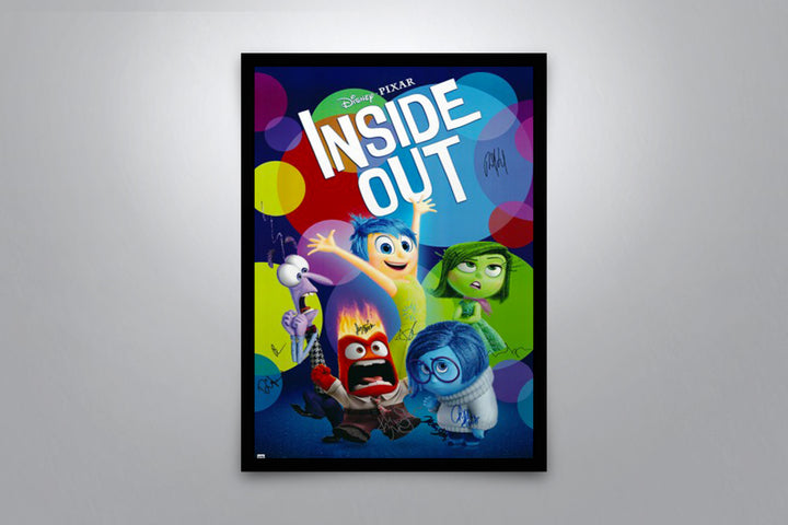 Inside Out - Signed Poster + COA