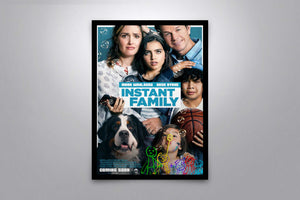 Instant Family - Signed Poster + COA