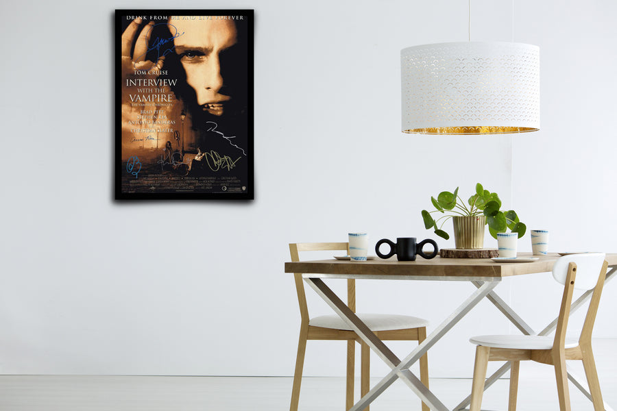 Interview With the Vampire: The Vampire Chronicles  - Signed Poster + COA