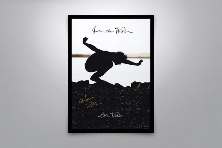 Eddie Vedder: Into The Wild - Signed Poster + COA