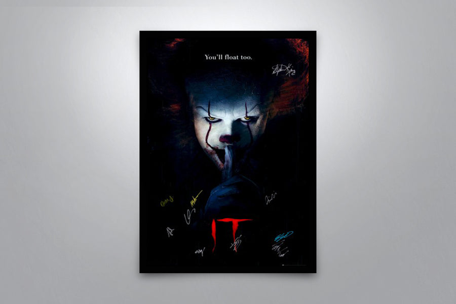 It - Signed Poster + COA