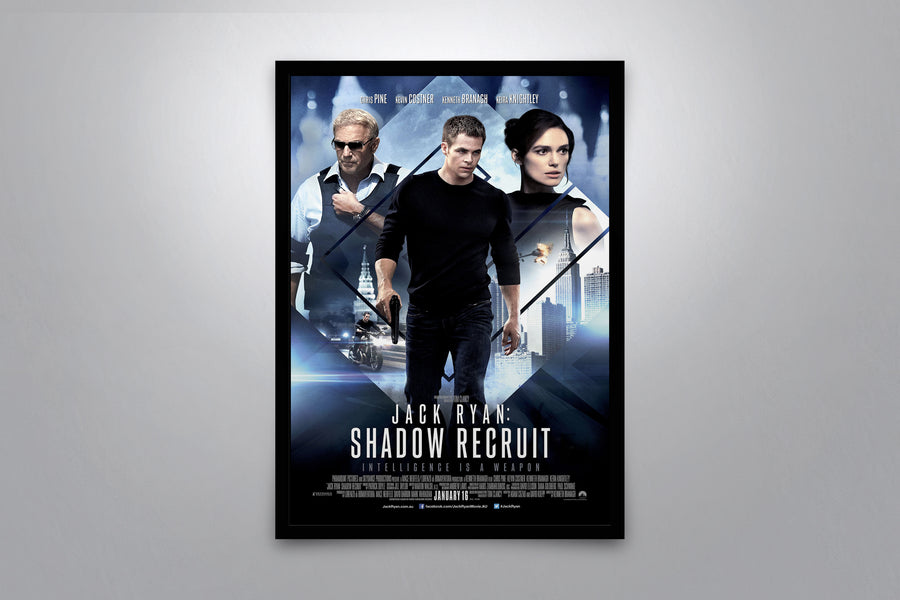 Jack Ryan: Shadow Recruit - Signed Poster + COA