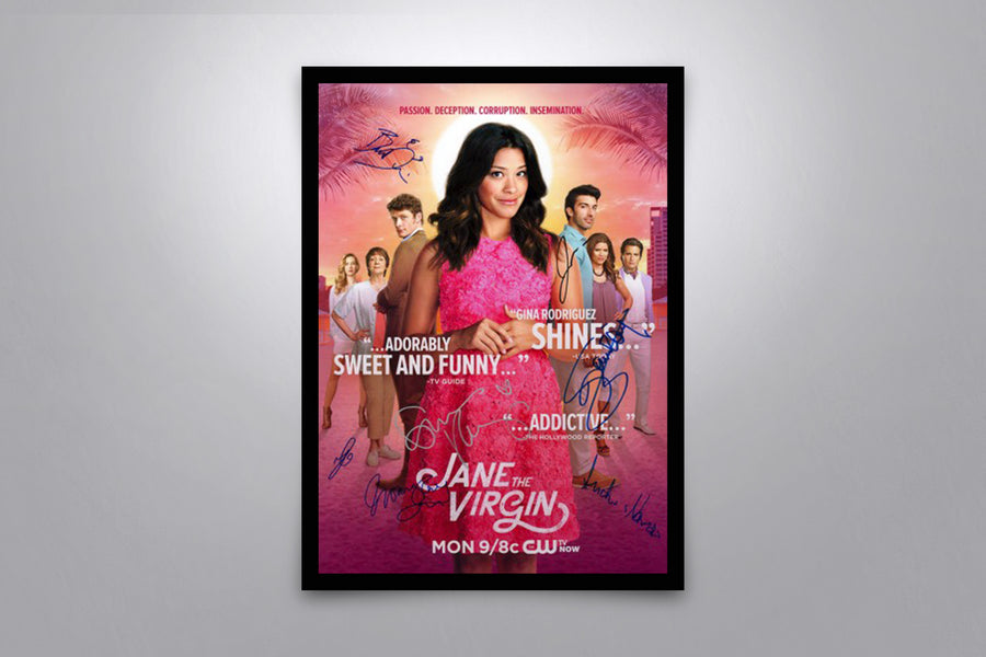 Jane the Virgin - Signed Poster + COA