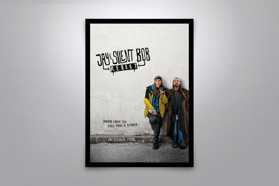 Jay and Silent Bob Reboot - Signed Poster + COA