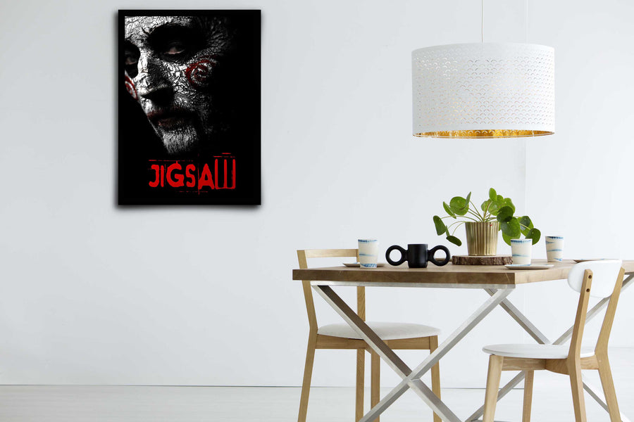 Jigsaw - Signed Poster + COA