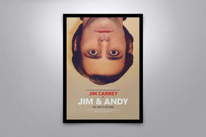 Jim and Andy: The Great Beyond - Signed Poster + COA
