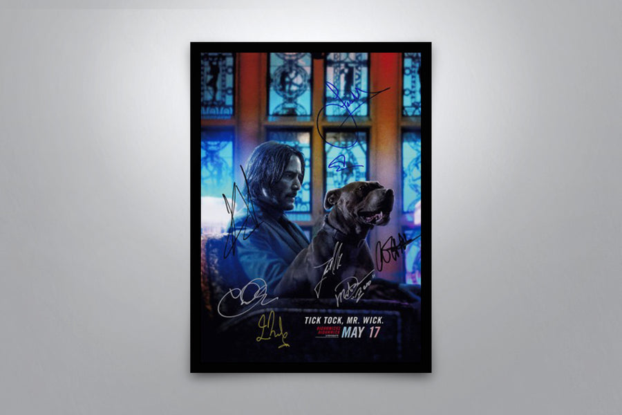 John Wick: Chapter 3 Parabellum - Signed Poster + COA