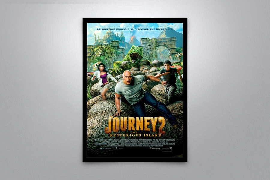 Journey 2: The Mysterious Island - Signed Poster + COA