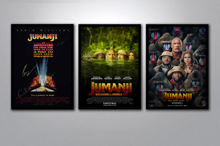 Jumanji Autographed Poster Collection
