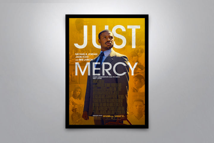 Just Mercy - Signed Poster + COA