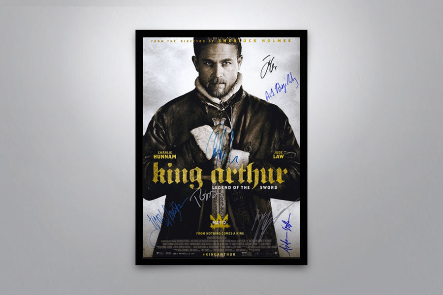 King Arthur: Legend of the Sword - Signed Poster + COA