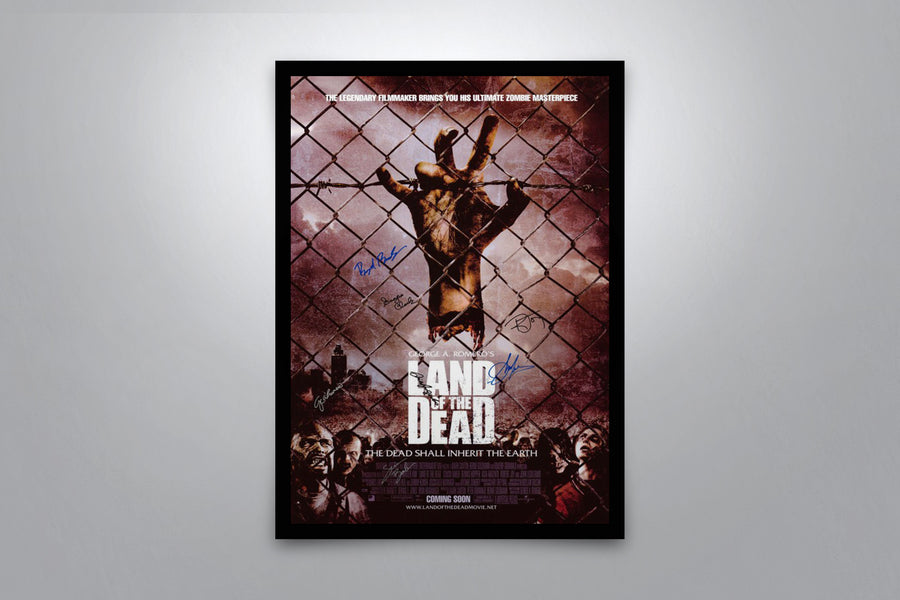 Land of the Dead - Signed Poster + COA