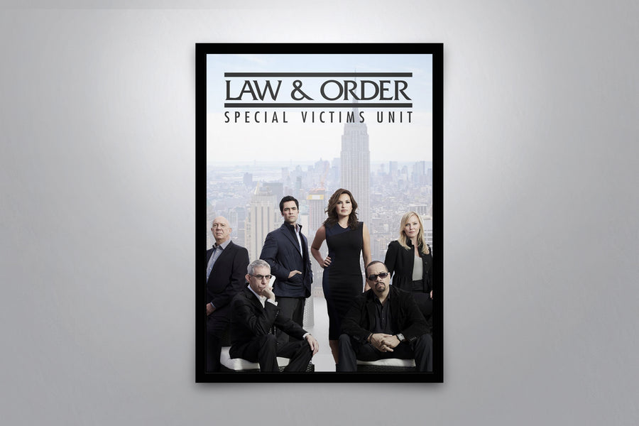 Law & Order: Special Victims Unit - Signed Poster + COA