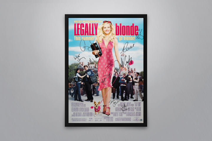 Legally Blonde - Signed Poster + COA