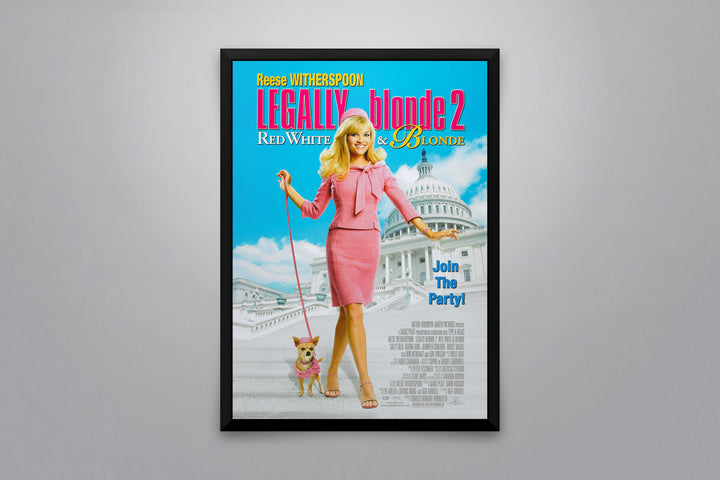 Legally Blonde 2: Red, White & Blonde - Signed Poster + COA