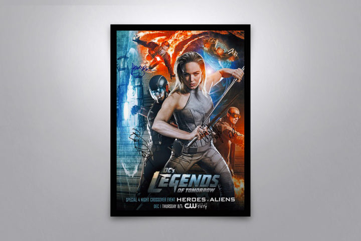 Legends of Tomorrow - Signed Poster + COA