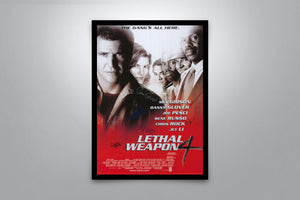 Lethal Weapon 4 - Signed Poster + COA