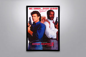 Lethal Weapon 3 - Signed Poster + COA