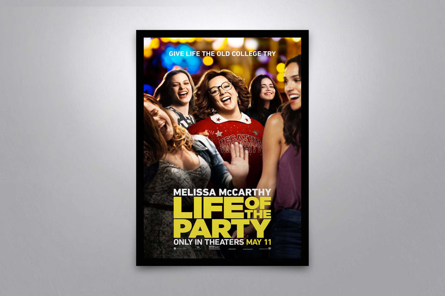 Life of the Party - Signed Poster + COA