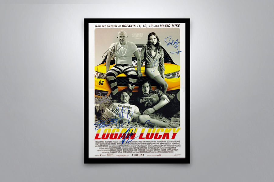 Logan Lucky - Signed Poster + COA