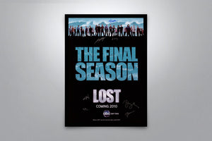 Lost: The Final Season - Signed Poster + COA
