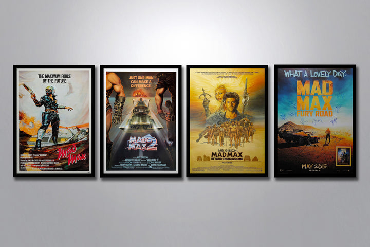 Mad Max Complete Poster Collection