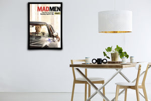 Mad Men - Signed Poster + COA