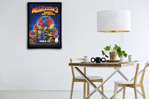 Madagascar 3: Europe's Most Wanted - Signed Poster + COA