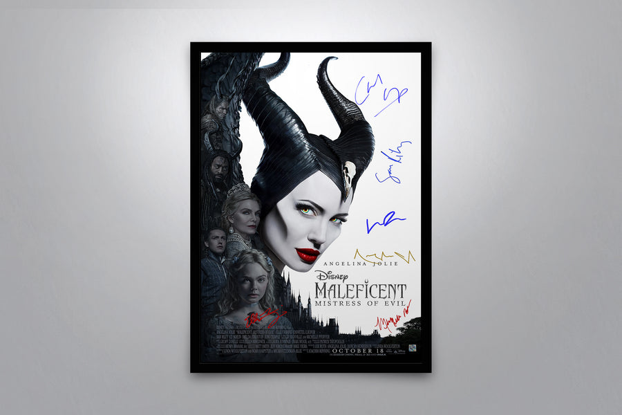 Maleficent Mistress of Evil - Signed Poster + COA