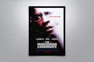 The Manchurian Candidate - Signed Poster + COA