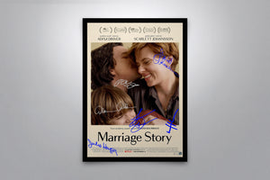 Marriage Story - Signed Poster + COA