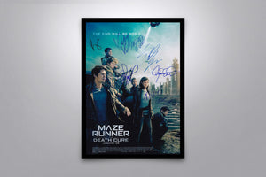 Maze Runner: The Death Cure - Signed Poster + COA