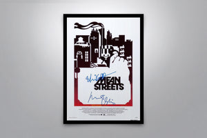 Mean Streets - Signed Poster + COA