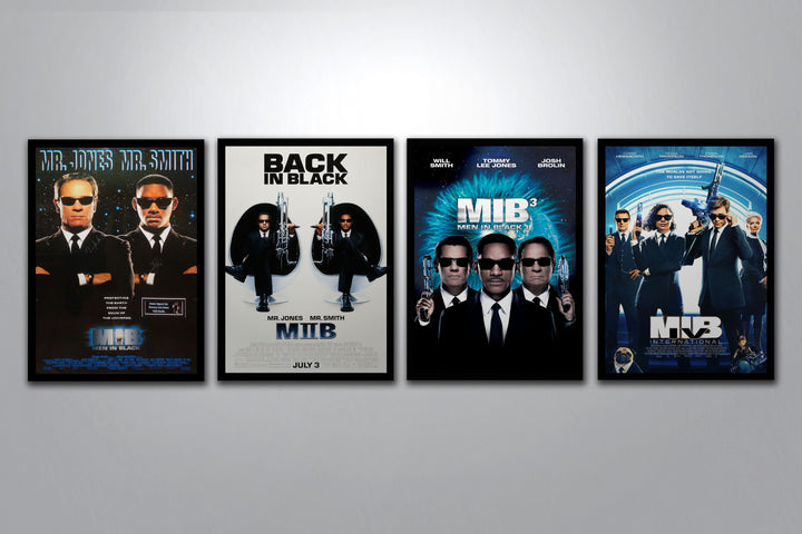 Men In Black Autographed Poster Collection