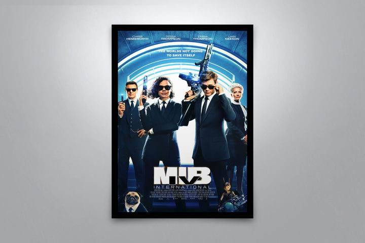 Men in Black: International - Signed Poster + COA