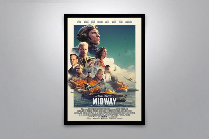 Midway - Signed Poster + COA