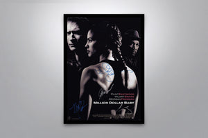 Million Dollar Baby - Signed Poster + COA