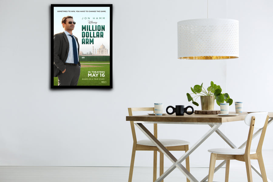 Million Dollar Arm - Signed Poster + COA