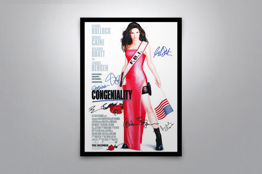 Miss Congeniality - Signed Poster + COA