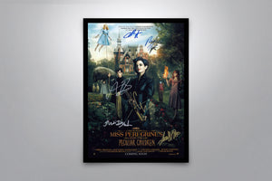 Miss Peregrine's Home for Peculiar Children - Signed Poster + COA