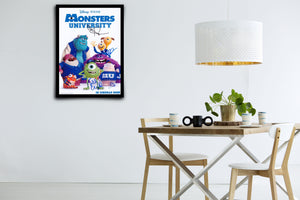Monster University - Signed Poster + COA