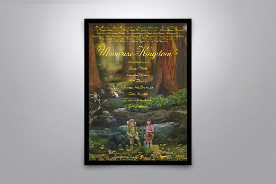 Moonrise Kingdom - Signed Poster + COA