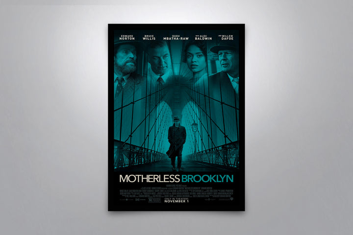 Motherless Brooklyn - Signed Poster + COA