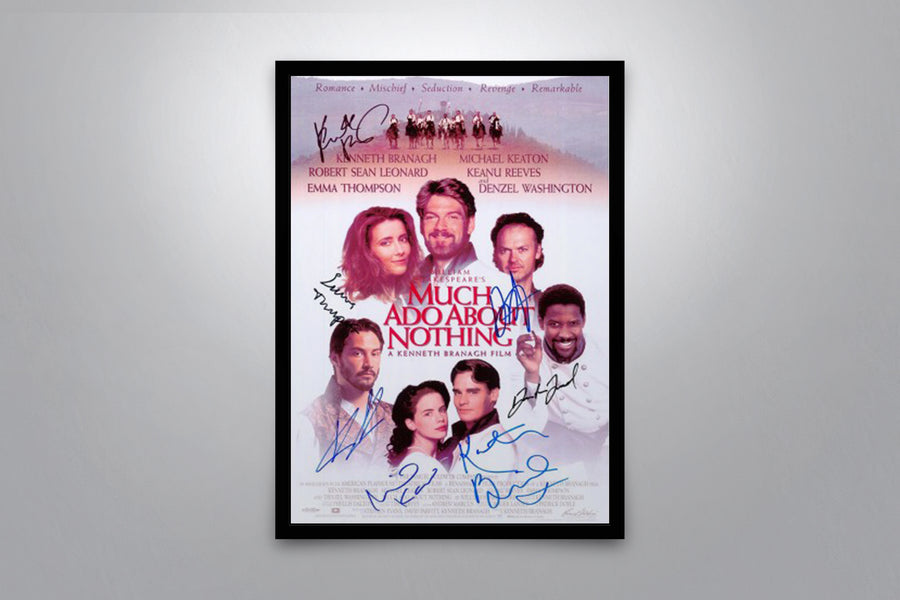 Much Ado About Nothing - Signed Poster + COA