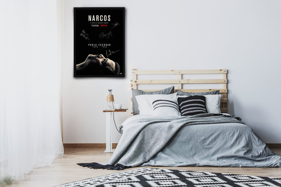 Narcos - Signed Poster + COA