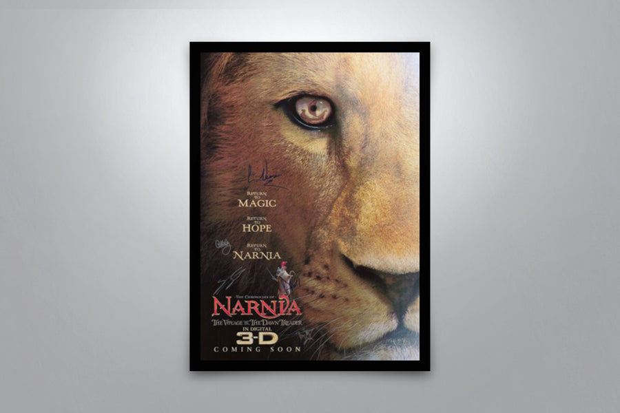 The Chronicles of Narnia: The Voyage of the Dawn Treader - Signed Poster + COA