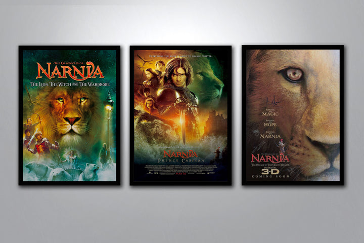 The Chronicles of Narnia Autographed Poster Collection